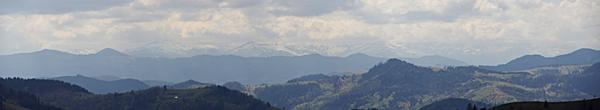 На задньому плані Чорногора